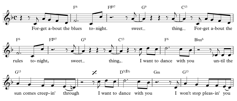 musical theatre – major to minor